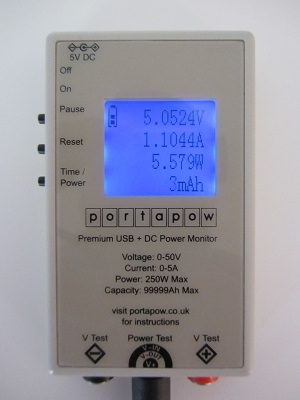 Intocircuit Power Mini 3000mAh Messung
