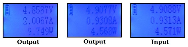 RavPower RP-PB07 Messergebnisse