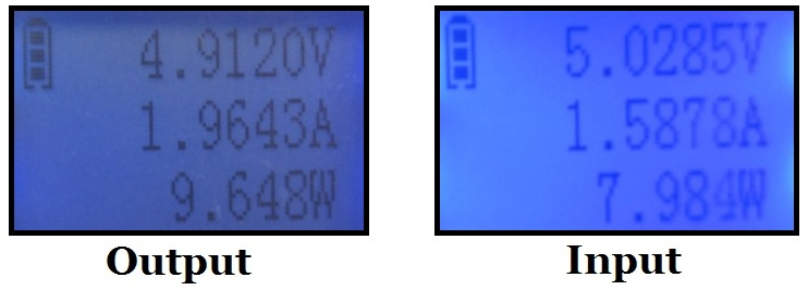 iEC 5200mAh Messergebnisse