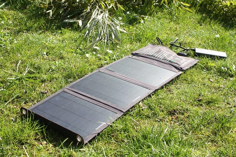 Solar Ladegerät im Test