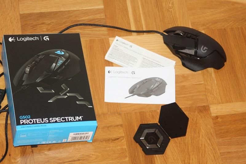 Logitech G502 Proteus Spectrum Test