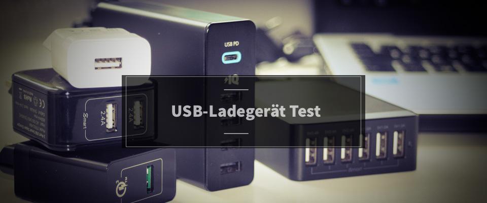 USB-Ladegerät Test