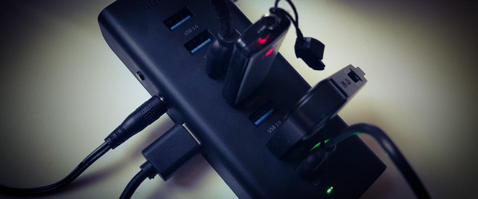 AUKEY USB 3.0 Hub (CB-H19) Test. Testbericht.