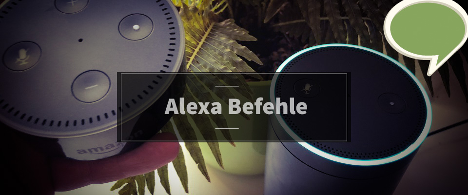 Alexa Befehle