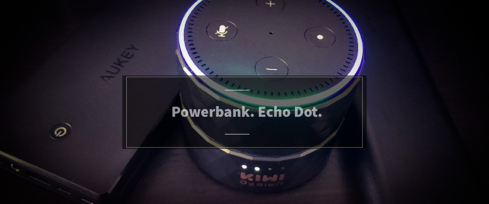 Echo Dot Powerbank