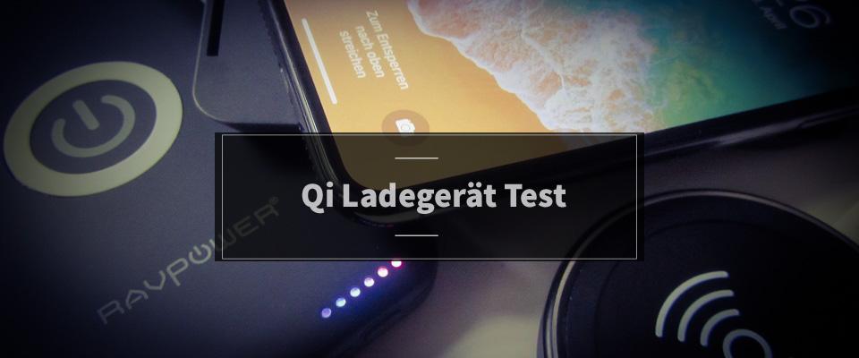 Qi Ladegerät Test