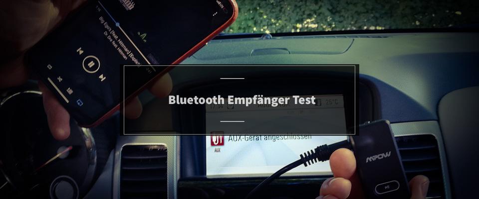 Bluetooth Empfänger Test