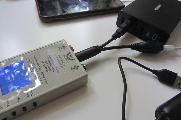 Anker PowerPort+ 5 Premium Messungen mit Strommessgerät