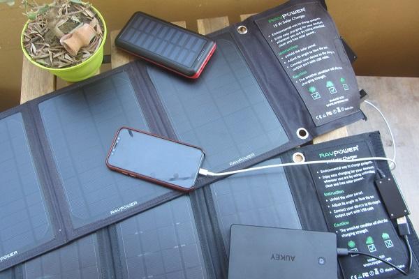 Outdoor Solar Ladegerät Leistung